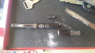 キーホルダーボールペン製作