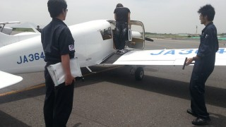 飛行機訓練